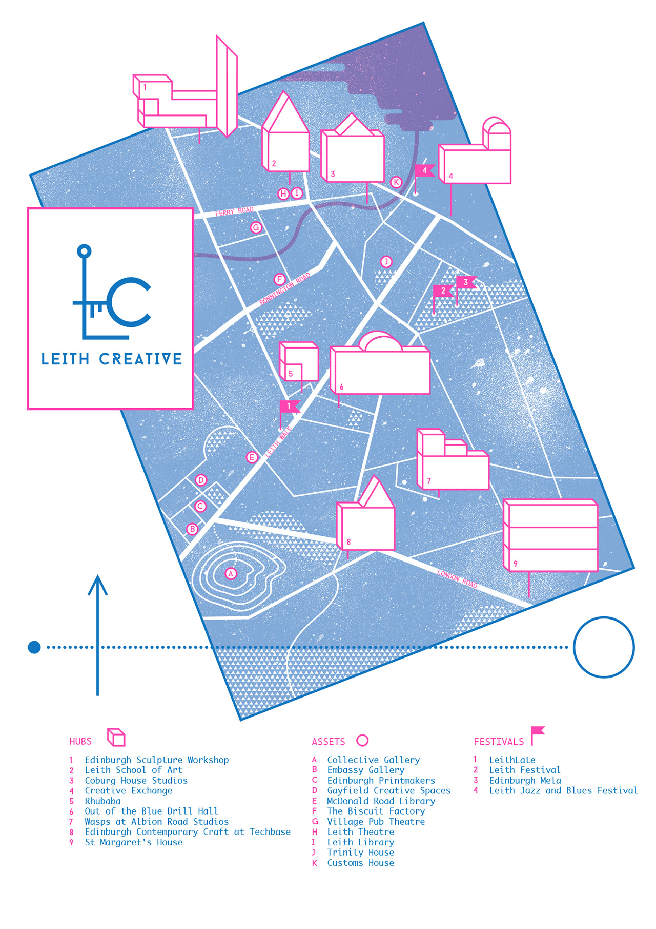 Leith Creative Map